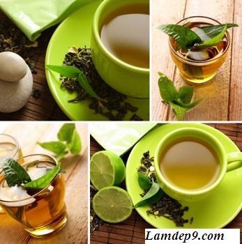 Chè/Trà xanh có tác dụng rất tốt trong việc chống lão hóa cơ thể