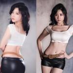 Hot girl Yeon Da Bin ăn mặc sành điệu và cá tính