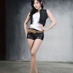Yeon Da Bin cao 1m73 và rất cân đối