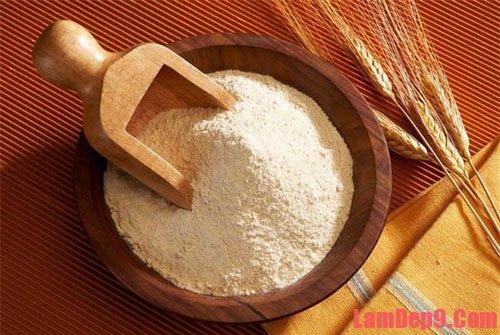 Cám gạo là nguyên liệu dùng làm đẹp