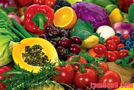 Những thực phẩm nên ăn khi da bị mụn