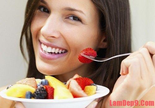Chế độ ăn chứa nhiều vitamin và khoáng chất cho da nhờn