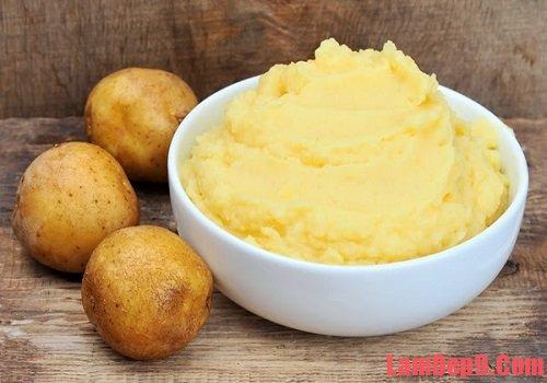 Cách làm đẹp bằng khoai tây