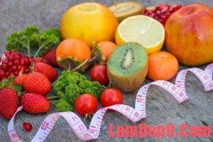 Các loại trái cây tốt cho việc giảm cân