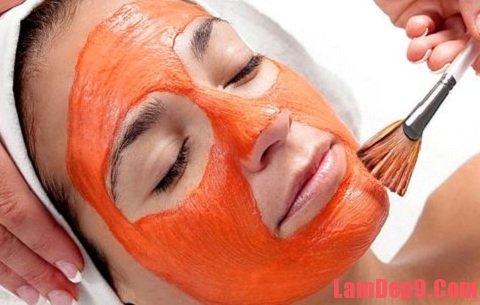 Phương pháp trị mụn đầu đen từ mặt nạ cà rốt và sữa chua